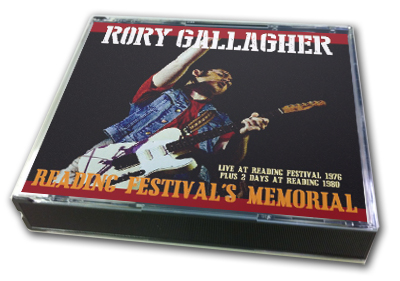 RORY GALLAGHER - READING FESTIVAL'S MEMORIAL