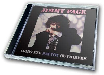 JIMMY PAGE - COMPLETE DAYTON OUTRIDERS