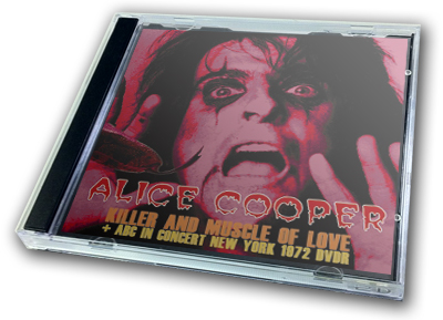 ALICE COOPER - KILLER AND MUSCLE OF LOVE + NY 1972