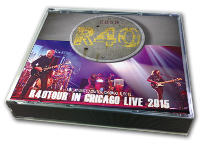 RUSH - R40 TOUR IN CHICAGO LIVE 2015