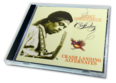 JIMI HENDRIX - CRASH LANDING ALTERNATES