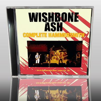 WISHBONE ASH - COMPLETE HAMMERSMITH