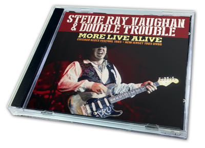 STEVIE RAY VAUGHAN - MORE LIVE ALIVE