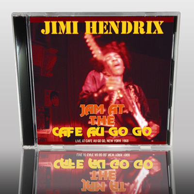JIMI HENDRIX - JAM AT THE CAFE AU GO GO