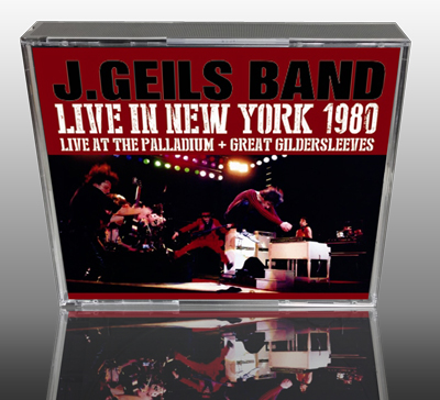 J.GEILS BAND - LIVE IN NEW YORK 1980