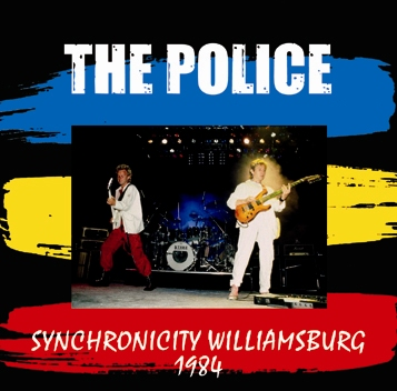 POLICE - SYNCHRONICITY WILLIAMSBURG 1984