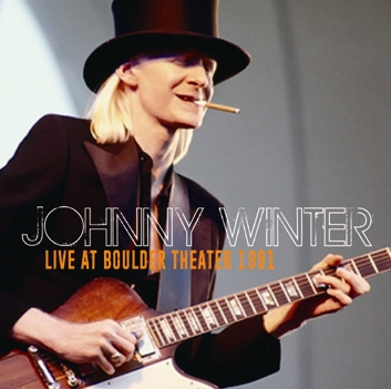 JOHNNY WINTER - LIVE AT BOULDER THEATER 1991