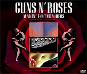 GUNS N' ROSES - MAKIN' F@*!NG VIDEOS: JAPANESE LASER DISC (3DVDR)
