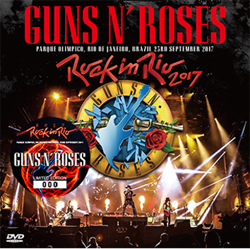 GUNS N' ROSES - ROCK IN RIO 2017 DVD