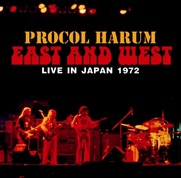PROCOL HARUM - EAST AND WEST - LIVE IN JAPAN 1972 (2CDR)