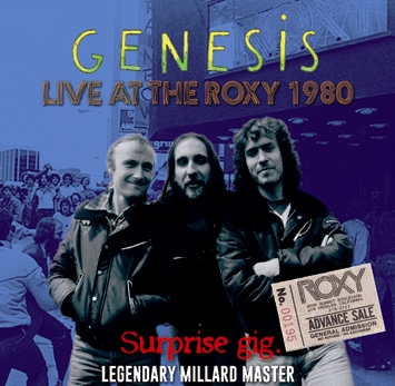 GENESIS - SURPRISE GIG: LIVE AT THE ROXY 1980: LEGENDARY MILLARD MASTER (2CDR)