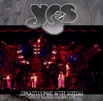 YES - APOCALYPSE SAN DIEGO: LIVE AT BALBOA STADIUM 1976 (2CDR)