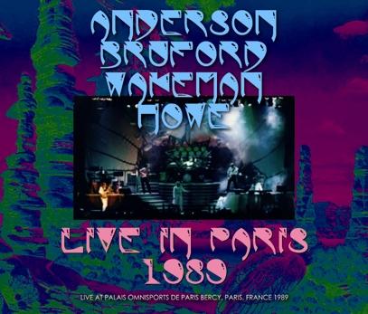 ANDERSON, BRUFORD, WAKEMAN, HOWE - LIVE IN PARIS 1989(3CDR)