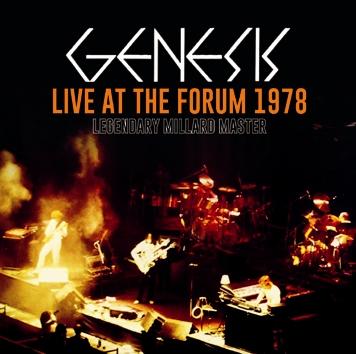 GENESIS - LIVE AT THE FORUM 1978 - LEGENDARY MILLARD MASTER (2CDR)