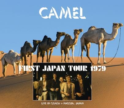 CAMEL - FIRST JAPAN TOUR 1979 (3CDR)