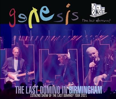 GENESIS - THE LAST DOMINO IN BIRMINGHAM (4CDR)