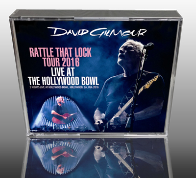 DAVID GILMOUR - LIVE AT THE HOLLYWOOD BOWL: RATTLE THAT LOCK TOUR 2016