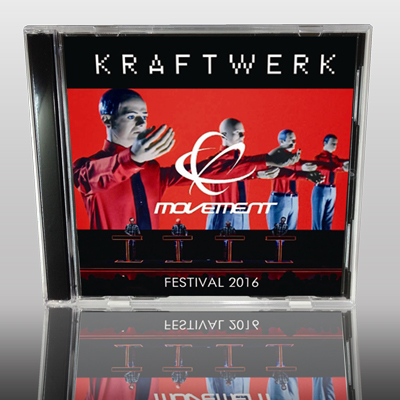 KRAFTWERK - MOVEMENT FESTIVAL 2016