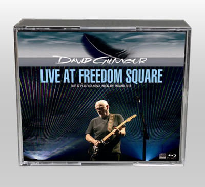 DAVID GILMOUR - LIVE AT FREEDOM SQUARE
