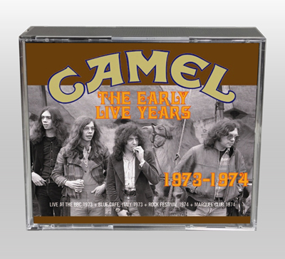 CAMEL - THE EARLY LIVE YEARS 1973-1974
