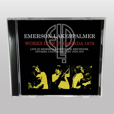 EMERSON, LAKE & PALMER - WORKS LIVE IN CANADA 1978