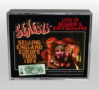 GENESIS - SELLING ENGLAND EUROPE TOUR 1974