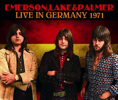 EMERSON, LAKE & PALMER - LIVE IN GERMANY 1971