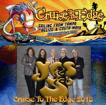 YES - CRUISE TO THE EDGE 2018