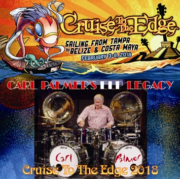 CARL PALMER'S ELP LEGACY - CRUISE TO THE EDGE 2018