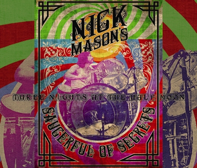 NICK MASON - THREE NIGHTS AT THE HALF MOON