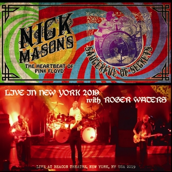 NICK MASON'S SAUCERFUL OF SECRETS - LIVE IN NEW YORK 2019 with ROGER WATERS (2CDR)