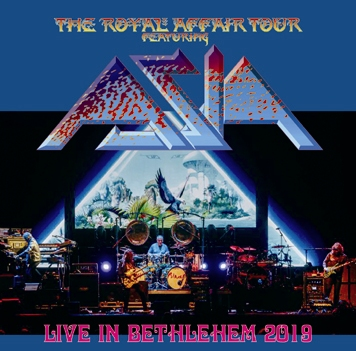 ASIA - LIVE IN BETHLEHEM: THE ROYAL AFFAIR TOUR 2019 (1CDR)