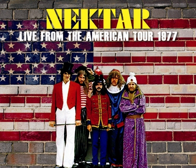 NEKTAR - LIVE FROM THE AMERICAN TOUR 1977 (3CDR)
