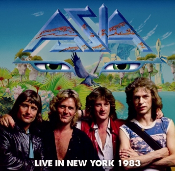 ASIA - LIVE IN NEW YORK 1983 (2CDR)
