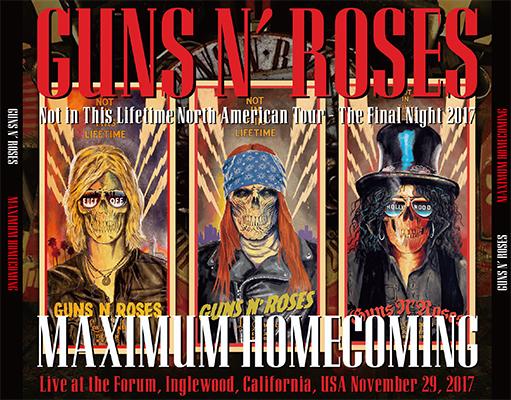 GUNS N' ROSES - MAXIMUM HOMECOMING