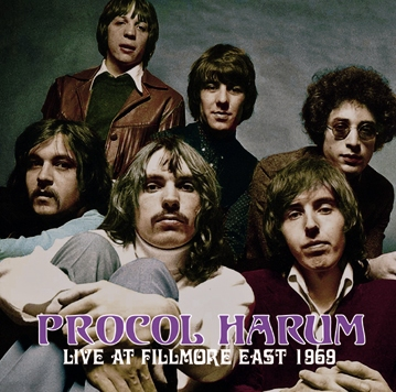 PROCOL HARUM - LIVE AT FILLMORE EAST 1969(1CDR)