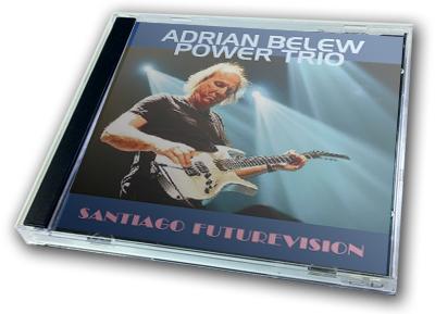 ADRIAN BELEW POWER TRIO - SANTIAGO FUTUREVISION