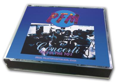 P.F.M. - CONCERTI : LIVE IN THE 70's