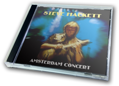 STEVE HACKETT - AMSTERDAM CONCERT
