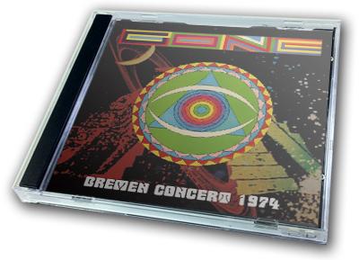 GONG - BREMEN CONCERT 1974