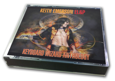 KEITH EMERSON + EL&P - KEYBOARD WIZARD ANTHOLOGY