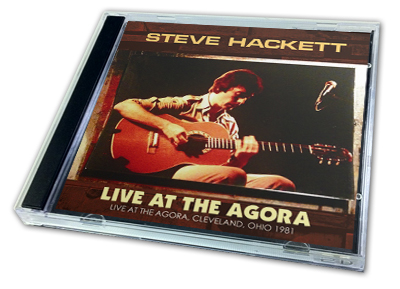 STEVE HACKETT - LIVE AT THE AGORA