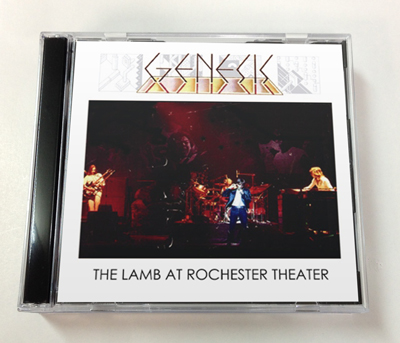 GENESIS - THE LAMB AT ROCHESTER THEATER