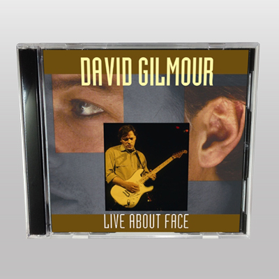 DAVID GILMOUR - LIVE ABOUT FACE