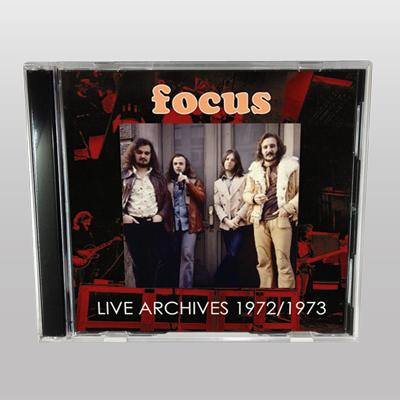 FOCUS - LIVE ARCHIVES 1972-1973