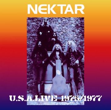 NEKTAR - U.S.A. LIVE 1975 / 1977