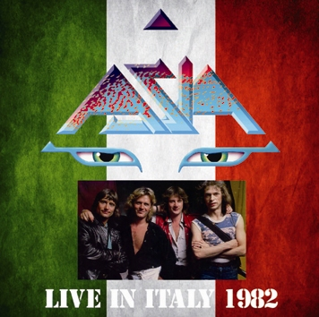 ASIA - LIVE IN ITALY 1982