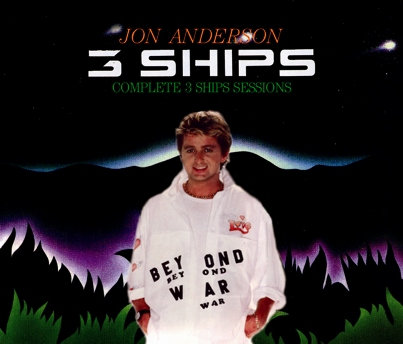 JON ANDERSON - COMPLETE 3 SHIPS SESSIONS(3CDR)