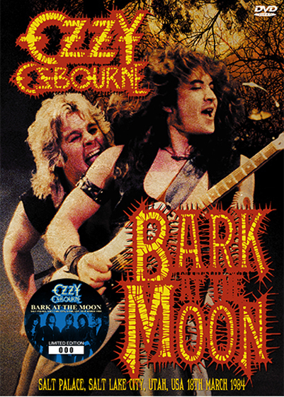 OZZY OSBOURNE - BARK AT THE MOON: SALT LAKE CITY 1984 (1DVD)