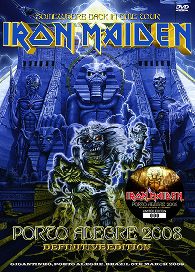 IRON MAIDEN - PORTO ALEGRE 2008 :DEFINITIVE EDITION